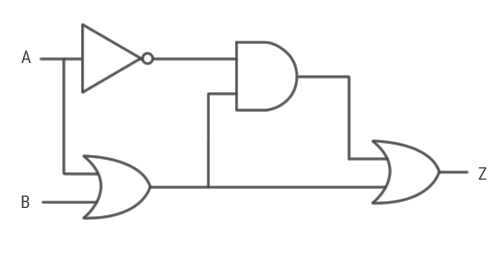 logic circuits computer science gcse guru Wiring- Diagram