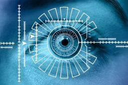 Biometrics iris scanner